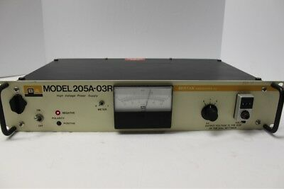 BA Bertan Associates 205A-03R High Voltage DC Power Supply Used