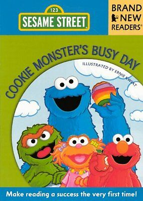 Cookie Monsters Busy Day (Sesame Street: Brand New Readers)
