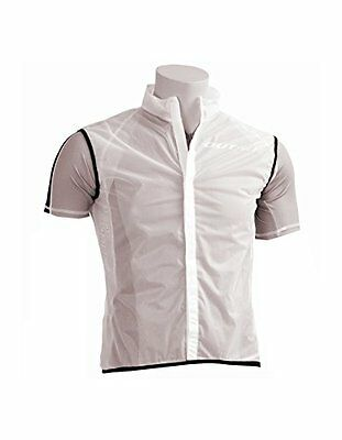 Outwet VE7020XL Chaleco Impermeable, Hombre, Blanco, XL