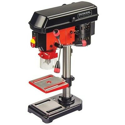 Corded Electric 2 Amp 8 Inch Drill Press Variable Speed Power Tool Laser System