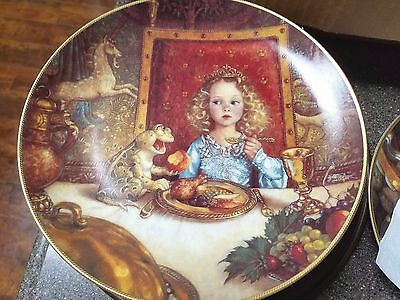 The Frog Prince Knowles Classic Fairy Tales Collectors Plate w/COA #4722B