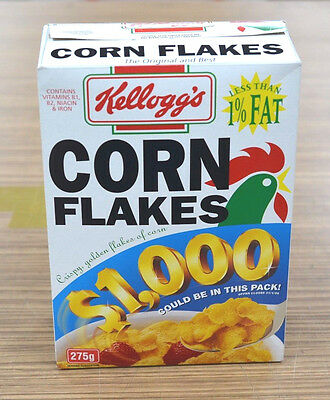 Vintage 1996 With Part Contents Kelloggs Cornflakes Packet.