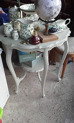 Side Table Edwardian Painted