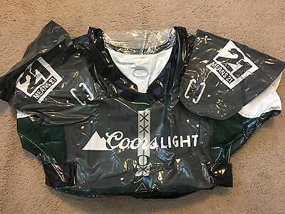 "COORS LIGHT Oregon Ducks SHOULDER PADS INFLATABLE 32x21"" NEW!! Royce Freeman #21"
