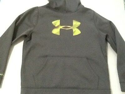 Under Armour Girl's Athletic Casual Hooded Sweatshirt, Sz Ylg