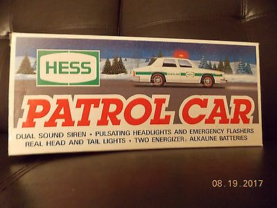 1993 Hess Patrol Car - New in Box (Mint Condition)