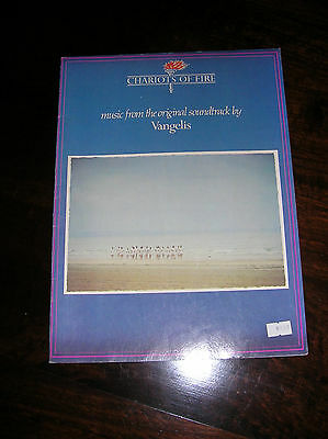 """""""Chariots of Fire"""" Music and Song Book-from the Original Sound Track by Vangles"""