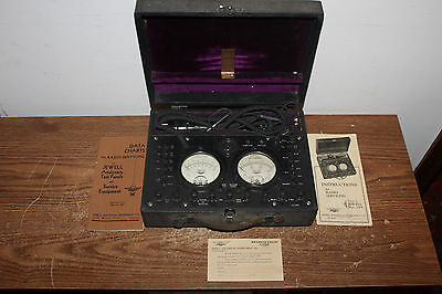 Vintage Jewel Radio Set Analyzer Pattern 199