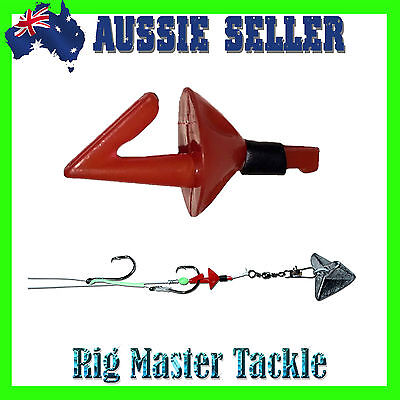 Bait Casting Impact Shield Land Based Fishing Hook Release System