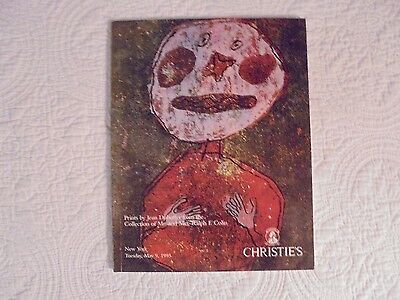 Christie's 1995 Prints by Jean Dubuffet