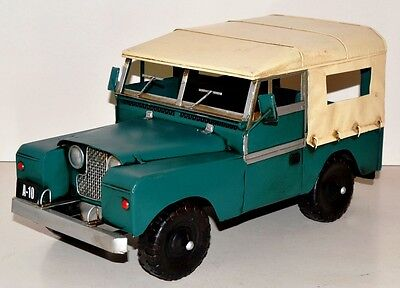 Jeep Oldtimer Blechauto Blechmodell Tin Model Vintage Car circa 36 cm 37458