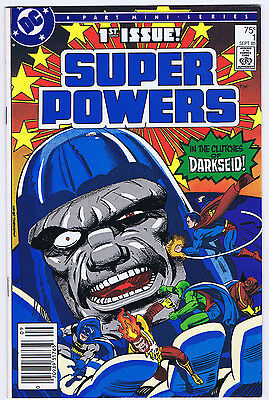 6 Super Powers Issues - #4 (1984) #1, 2, 3, 5, 6 (85/86) - Jack Kirby - Vg/f