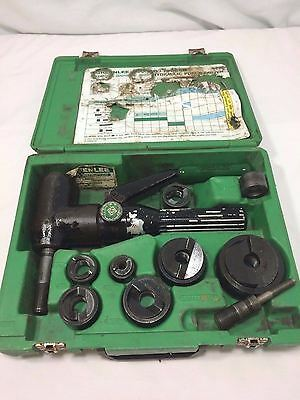 """Greenlee 7906SB Quick Draw 90 Hydraulic Punch Driver 1/2"""" - 2"""" Conduit Size"""