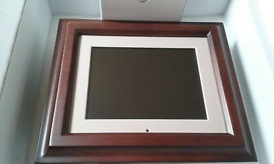 Smartparts SP8PRT 8-Inch Digital Picture Frame with Built-In Printer, HD LCD
