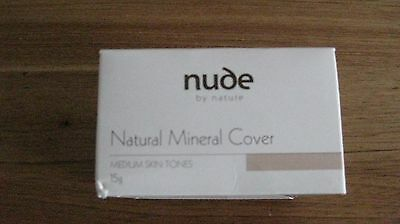 Nude By Nature Mineral Cover Medium Skin Tones 15G