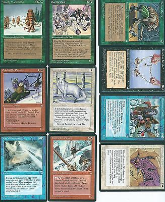 Magic the Gathering Ice Age mixed common lot 7
