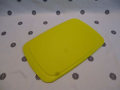 Tupperware  Small Chopping Cutting Board Lime Green New!