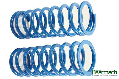 Land Rover Discovery 1 (89-98) 20mm Lift Bearmach Blue Rear Coil Springs BA 2103