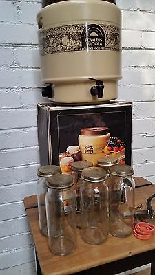 FOWLERS VACOLA ELECTRIC Food preserver PRESERVING KIT vintage retro