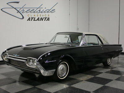 1962 Ford Thunderbird  TOP-OF-THE-LINE LANDAU, FRESH INTERIOR & PAINT, 390/300 HP V8, AUTO, 3.00 GEARS!