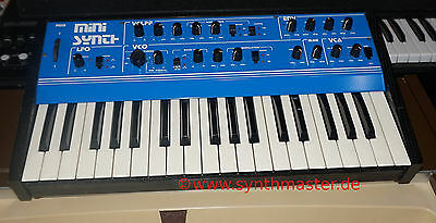 "E-Pro Epro Minisynth mega rare analog vintage Synthesizer TOP ""only ca.50 made"""