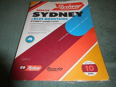 SYDNEY & Blue Mountains Street Directory - 2005