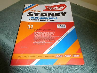 SYDNEY & Blue Mountains Street Directory - 2006