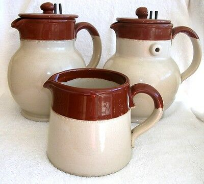 Albany Ware Brown-Topped Milk Jug, matches RAPID Electric Jug