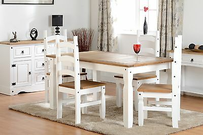 Cool Corona White And Waxed Pine Drawer Chest Bedside Wardrobe Gmtry Best Dining Table And Chair Ideas Images Gmtryco