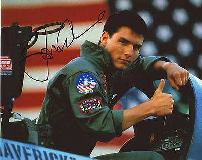 Tom Cruise - Top Gun Autograph Signed Pp Photo Poster 2
