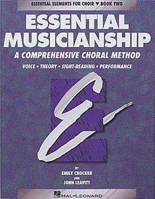 Essential Muscianship Bk. 2 (1995, Paperback, Student Edition of Textbook)