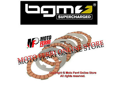 Mf0494 - Dischi Frizione Modifica A 4 Bgm Pro Racing Red Vespa 125 Et3 Primavera