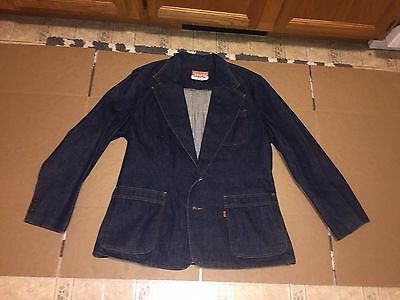 Levis Jean Jacket Blazer Vintage USA Made