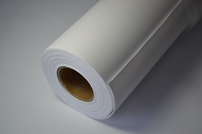 """36"""" x 60ft Roll: 270GSM 100% Polyester Inkjet Canvas for Wide Format Printing"""