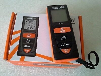 Suaoki D8 40m Digital Laser  Distance Meter-NEW/UNUSED