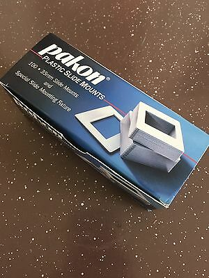 Pakon Plastic Slide Mounts Box Of 95
