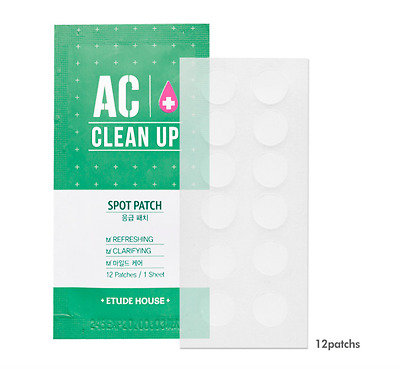 ETUDE HOUSE AC Clean Up Spot Patch for Acne 1pcs 12patch