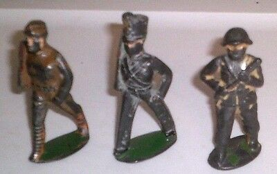 Vintage Lead Toy Soldiers Wwi Army Men British
