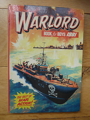 Warlord Book for Boys 1981 (Annual), Good Condition Book, , ISBN 0851161871