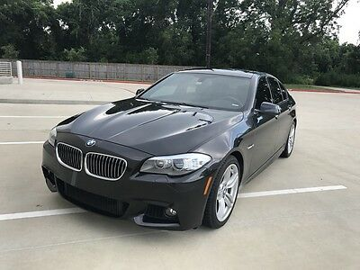2013 BMW 5-Series 535I M SPORT PACKAGE Low Miles! All the Upgrades! Nav, Heads Up Display, Sunroof, Handsfree Trunk Rel