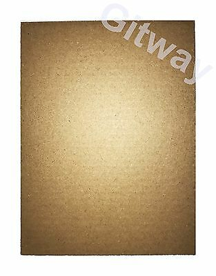 "9"" x 12"" Cardboard Corregated Sheet Inserts Filler Pads 32 ECT 1/8"" Thick 9x12"