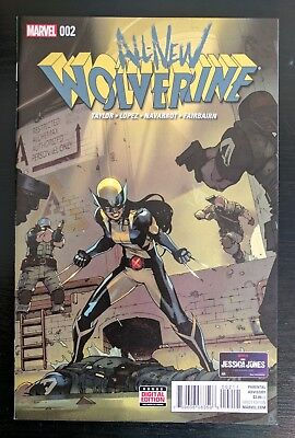 All New Wolverine #2 NM or better. 1st app of Gabby