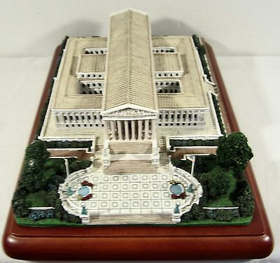 Danbury Mint Great Buildings of the US Capital THE SUPREME COURT