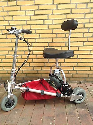Travel Scooter, faltbares E-Mobil, Mitnahme in PKW/Flugzeug, bei Gehbehinderung