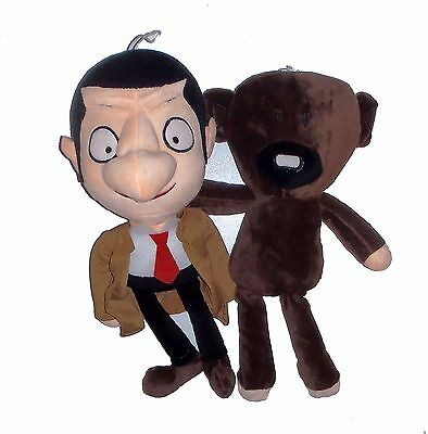 "12"" Mr Bean and Bear Soft Toy Multipack Brand New"