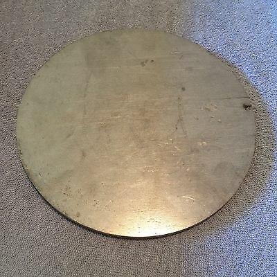 304 Stainless Steel 3/8 Inch X 8 1/2 Inch Round/Disc Circle Plate
