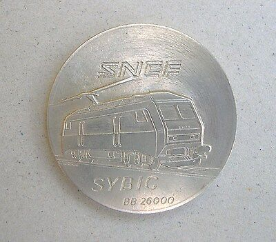 Medaille  Sncf  Sybic Bb 26000 Tout Metal                   .1348.