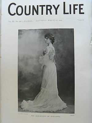 COUNTRY LIFE ILLUSTRATED 1 MARCH 1902 Amesbury Abbey Wiltshire Earl Fitzwilliam
