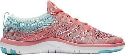 WOMENS NIKE FREE TR FOCUS FLYKNIT Trainers 844817 801 -  100.76 ... d7678d15a953