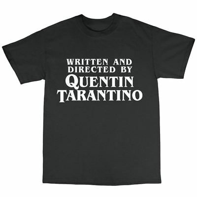 Quentin Tarantino Tribute T-Shirt 100% Cotton Pulp Fiction Reservoir Dogs